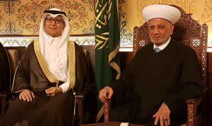 دريان بعد لقائه البخاري: السعودية حريصة على امن لبنان