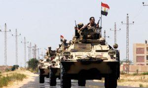 مقتل 19 إرهابيًا في عمليات للجيش المصري في شمال سيناء