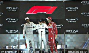 بالصور والفيديو… بوتاس يتوج بجائزة أبو ظبي الكبرى للفورمولا 1!