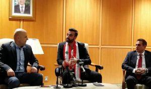 حاصباني في استقبال فؤاد مقصود: لبنان مصدر أساسي للابداع