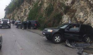 3 جرحى في حادث سير على طريق عام بكركي حريصا