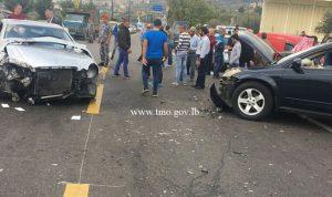 بالصور… حادث مروع على طريق كفرحبو