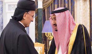 بالصور… الملك سلمان يستقبل الراعي في الرياض