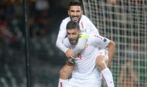 لبنان للعام الثاني من دون خسارة ويتأهل الى نهائيات كأس آسيا