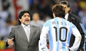 مارادونا يطلب فرصة أخرى لتدريب الأرجنتين