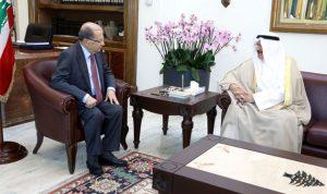 هذا ما نقل سفير الكويت إلى الرئيس عون
