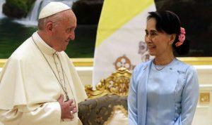 البابا يدعو من ميانمار إلى احترام حقوق الإنسان!