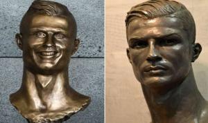 تمثال جديد لرونالدو بـ50 ألف يورو!