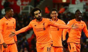 """""""الهداف"""" صلاح يهدي ليفربول المركز الخامس"""