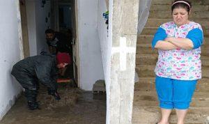 بالصور… المياه تدخل المنازل في الجنوب