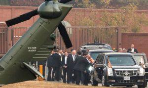 إلغاء زيارة ترامب لحدود كوريا الشمالية في آخر لحظة