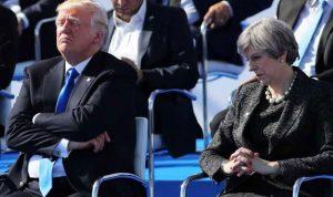 ترامب دعا ماي إلى إبرام اتفاق نووي جديد مع إيران