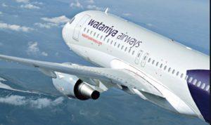 اول طائرة للخطوط الجوية الوطنية الكويتية تحط في بيروت