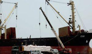 وصول سفينة مساعدات إلى ميناء الحديدة اليمني