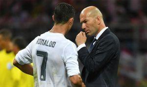 زيدان: هكذا سيعود رونالدو إلى التهديف