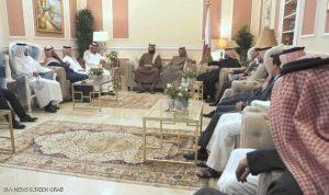 """شيوخ آل ثاني في اجتماع """"إنقاذ قطر"""""""