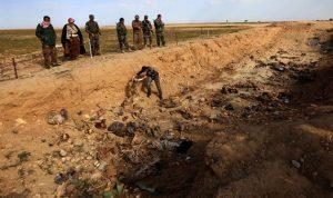 العثور على مقبرتين جماعيتين قرب سنجار شمال العراق