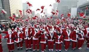 بالصور…أغرب الاحتفالات الميلادية حول العالم