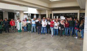 إعتصامات مفتوحة لموظفي مستشفى صيدا الحكومي