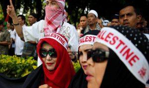 80 ألف متظاهر في اندونيسيا من أجل القدس