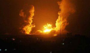 الجيش الاسرائيلي: إستهدفنا ٤ مواقع عسكرية تابعة لحماس