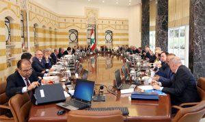 ما أبرز البنود على طاولة مجلس الوزراء الأربعاء؟