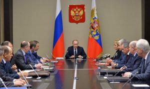 بوتين يعقد اجتماعا مع مجلس الأمن الروسي حول سوريا