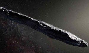 """جسم يشبه """"سيجارة"""" في الفضاء"""
