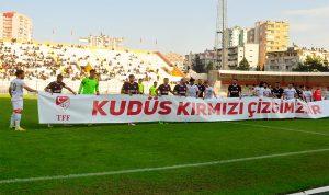 لاعبو كرة القدم التركية: القدس خط أحمر