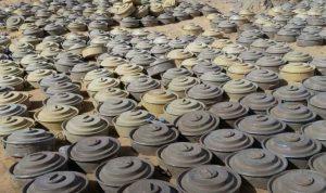 تفكيك 6 آلاف لغم زرعها الحوثيون في اليمن