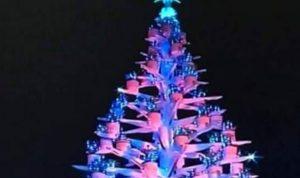 إضاءة شجرة الميلاد في بشري