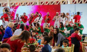 بالصور… مؤسسة إيناس أبو عياش تقيم احتفالا ميلاديا في بكركي