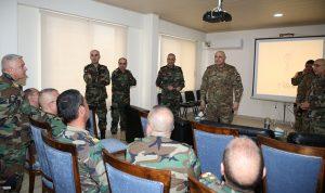 قائد الجيش تفقد وحدات عسكرية وأشرف على سير الخطة الأمنية