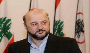 الرياشي: حريصون على التزام الاعلام الرسمي بسياسة النأي بالنفس