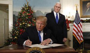 """السر وراء استعجال ترامب في اتخاذ """"قرار القدس"""""""