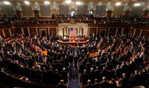 الكونغرس يدعم تظاهرات إيران