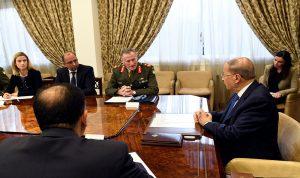 بيري في لقاءات مع عون وبري والحريري: اليونيفيل داعم للجيش اللبناني