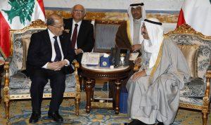 عون في الكويت: إتّفاق على تعزيز التعاون بين البلدين