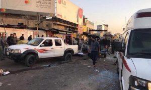 حصيلة ضحايا تفجير بغداد إلى ارتفاع!