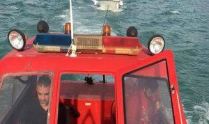 إنقاذ زورق صيد مقابل خليج جونية!