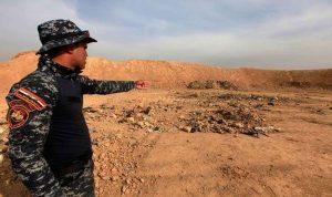 مقبرة جماعية لنساء عذبهن داعش