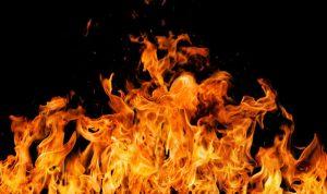 حريق في زوق مكايل