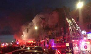 ارتفاع حصيلة ضحايا حريق نيويورك
