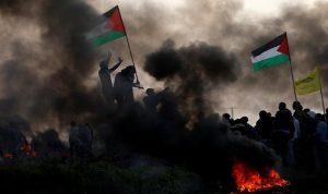 إصابتان في قصف إسرائيلي وسط قطاع غزة