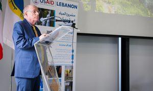 الـUSAID تدعم مصلحة مياه لبنان الشمالي بـ2.8 مليون دولار