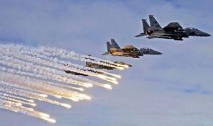 قصفٌ إسرائيلي على مواقع للنظام السوري