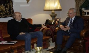جنبلاط عرض الأوضاع مع سفير هنغاريا