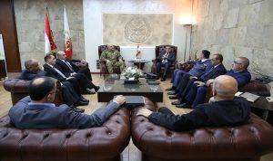 اجتماع أمني بهدف ترسيخ الاستقرار في لبنان