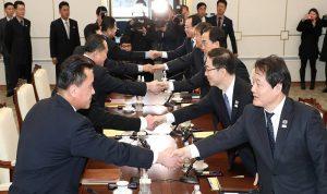 الكوريتان في فريق مشترك في الألعاب الأولمبية
