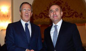 لافروف وجاويش أوغلو يعدّان لمؤتمر الحوار الوطني السوري